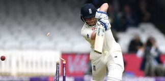 England 184 all out against Pakistan in 1st Test