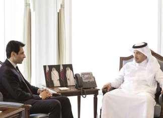 Pakistan's envoy calls on Prime Minister of Qatar