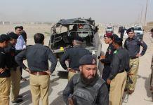Three policemen among six injured in blast in Naseerabad