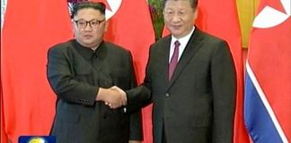 North Korea's Kim briefs China's Xi on Trump summit