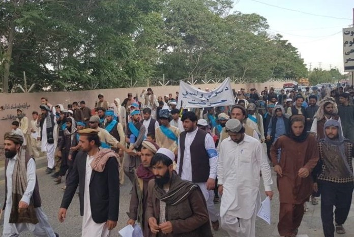 Peace marchers arrive in Afghan capital saying 'everyone's tired of war'