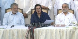 Zulfiqar Mirza, Fehmida Mirza joins Grand Democratic Alliance (GDA)