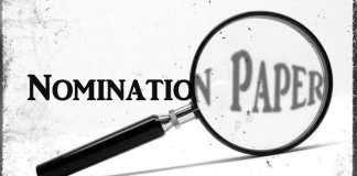 Last day for submitting nomination papers tomorrow (Monday)