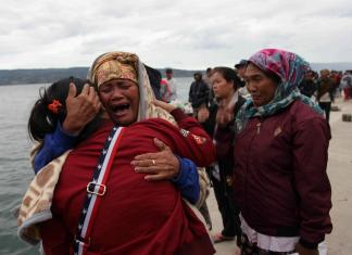 128 missing as rescuers hunt continues for victims of ferry disaster in Indonesia