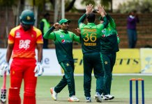 Pakistan record 244-run victory against Zimbabwe