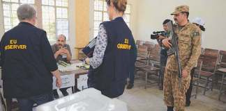 EU observers rule out military interference in voting process