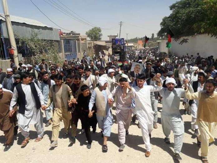 Afghan tensions rise as protest in north turns violent