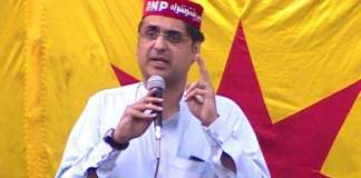 Haroon Bilour's widow returns compensation cheque
