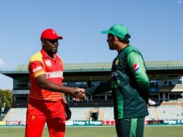 Zimbabwe to bat first against Pakistan in second ODI