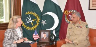 Army Chief, US Deputy Secretary reaffirm commitment towards regional peace