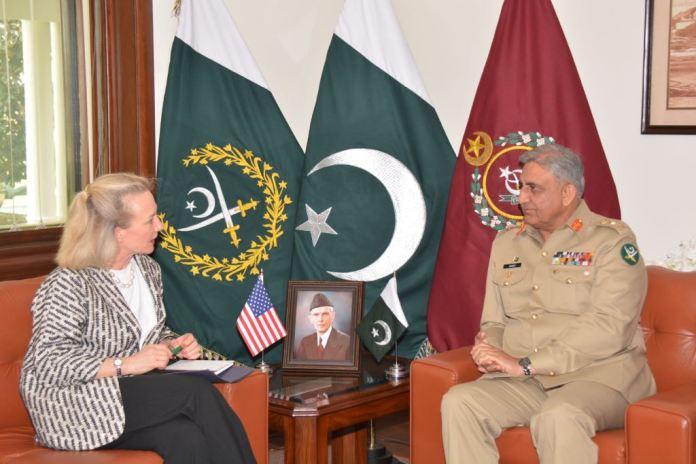 Army Chief, US Deputy Secretary reaffirm commitment towards regional peace