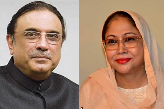 FIA summons Zardari, Talpur in siphoning off money case