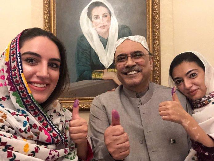 Asif Zardari wins NA-213 election