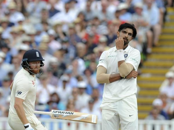Ishant Sharma penalised for breaching ICC code of conduct