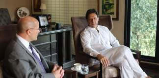 Trust deficit exists in Pak-US relations: Imran Khan