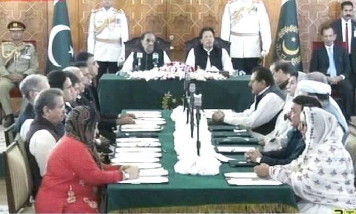 PM Imran Khan's 21-member federal cabinet sworn in