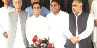 PTI leaders call on Ayaz Sadiq, seeks cooperation
