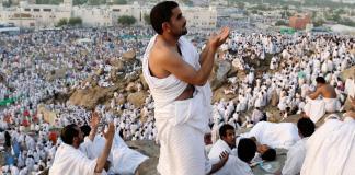 Pilgrims converge in Arafat to perform main ritual of Hajj
