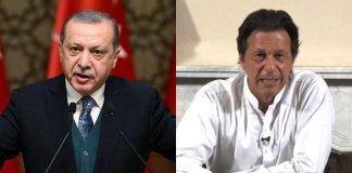 Turkish President Erdogan lauds PM Imran's peace efforts