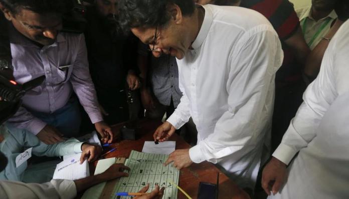 ECP reserves verdict in Imran Khan's controversial vote casting case