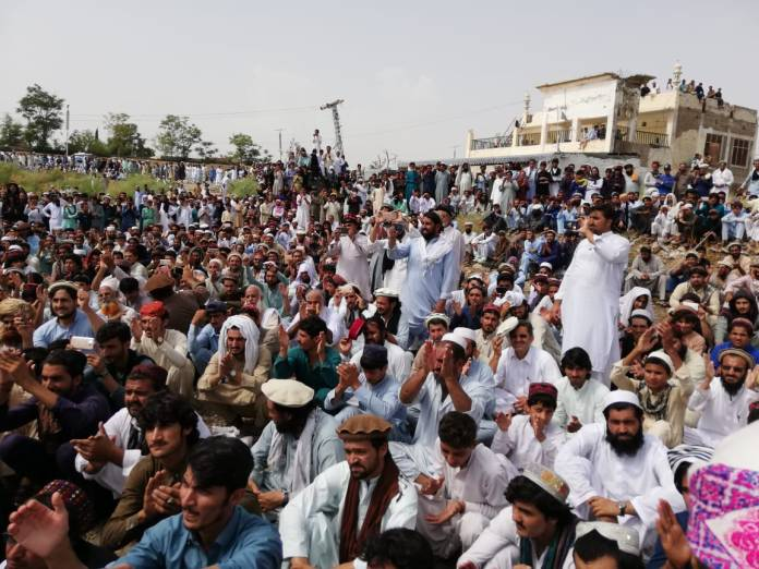 Miranshah sit-in File Photo