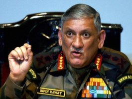 Indian army chief threatens aggression against Pakistan