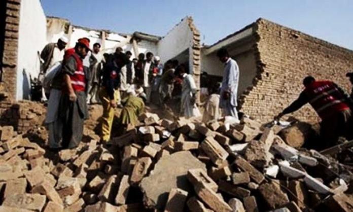 Primary school partially damaged in terrorist attack in Chitral