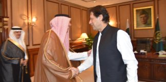 Saudi Info Minister calls on PM, discuss bilateral relations