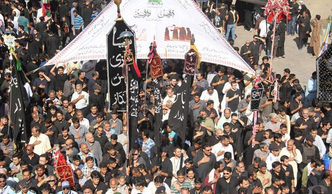 Ashura processions underway amid tight security