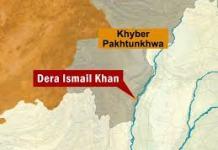 One terrorist killed in DI Khan