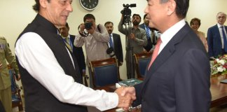 PM Imran, Chinese FM Wang Yi discuss bilateral relations