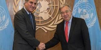 Pakistan urges UN chief to resolve Kashmir issue