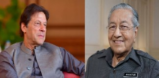Imran Khan, Mahathir Mohammad vow to strengthen bilateral relations