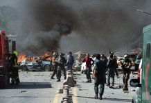 Dozens of casualties as multiple blasts rock Kabul polling centres
