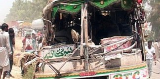 21 killed, 40 injured as two passenger buses collide in DG Khan