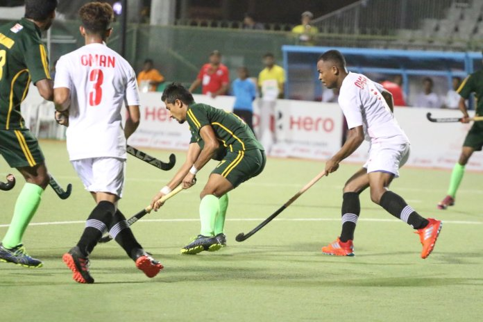 Pakistan beat Oman by 8-1 in Asian Hockey Champions Trophy