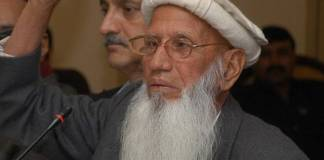 Baba Haider Zaman, advocate of Hazara province passes away at 82