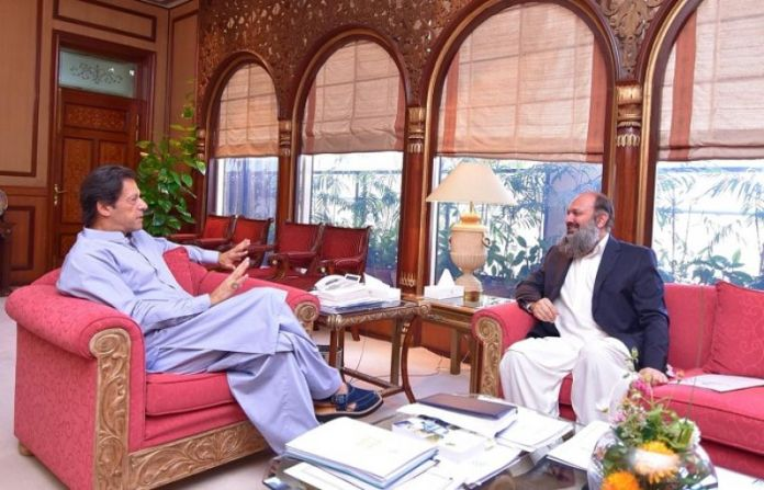 PM Imran reiterates govt's commitment to develop Balochistan