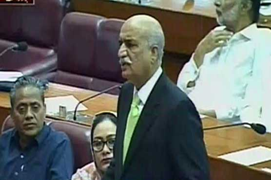 Opposition to oppose any move against country's interest: Khurshid Shah