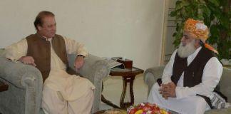 Fazlur Rahman meets Nawaz, discuss opposition's APC
