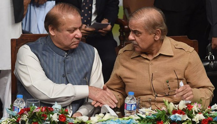 Nawaz, Shehbaz discusses Azadi March, various matters in jail