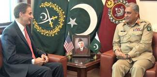US envoy calls on COAS Gen Bajwa, discuss Afghanistan situation