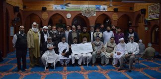 Pakistanis in Buckinghamshire donate Rs2.35m for dams fund