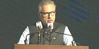 Pakistan's weapons are solely for defence purpose: President Alvi