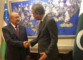 Uzbekistan's Foreign Minister holds delegation-level talks with Qureshi