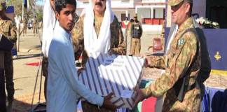 Pak Army hands over homes, shops of model village in Mashkai, Awaran: ISPR