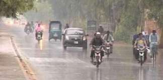 Met Office forecasts rain across country from Thursday to Saturday