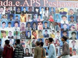 4th anniversary of APS Peshawar attack being observed today