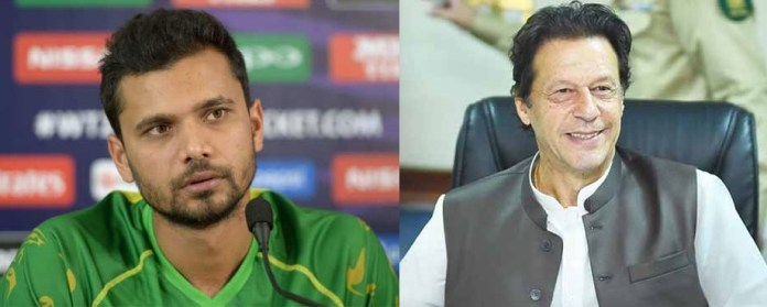 People can't always reach Imran Khan's level: Mashrafe