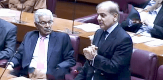 Pakistan has to adopt strong stance on Kashmir today: Shehbaz Sharif